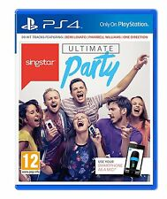 * Playstation 4 * NEW SEALED Game * SINGSTAR ULTIMATE PARTY * PS4 * Sca Pack