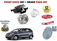 FOR HONDA FRV 2.0  VTEC 2004 - 2007 NEW REAR BRAKE DISCS SET + DISC PADS KIT