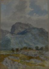 Ben Nevis Mountain Scotland Colonel George Strahan  Watercolour 1839-1913