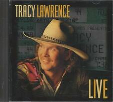 Music CD Tracy Lawrence Live