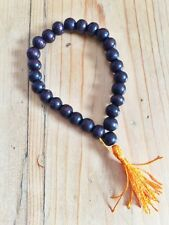 WOODEN WRIST MALA PRAYER BEADS FAIR TRADE MEDITATION BUDDHIST H