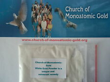 Church of Monoatomic White-Gold-Powder 10 G, Monatomic, Etherium, ormus, m-state