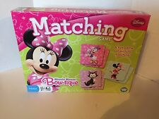 Minnie Mouse Bow-tique Picture Matching Game Preschool 3+ Disney Fun Friends