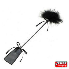 Adult Sex Toy Leather Slapper BDSM Flirting Whip Feather Cosplay Couple Game New