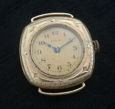 "Ladies Old/Antique/Vintage EARLY Elgin ""Wristlet"" watch w/engraved case"
