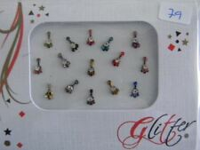 Crystal Diamante Bindi Stick On Bollywood Indian Body Tattoo Art Gem Jewel GL79