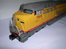 MTH UP AC6000 diesel proto 2 ,20-2385-1 boxed missing a ditch light , lot # 6233