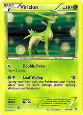 Virizion Holo Rare Pokemon Card BW3 Noble Victories 13/101