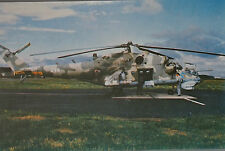Robert Senkowski Mil Mi-24 Hind Polish Air Force Postcard