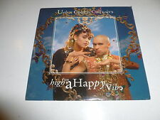 """URBAN COOKIE COLLECTIVE - High On A Happy Vibe - 1994 UK 2-track 7"""" Vinyl Single"""