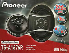 "PIONEER TS-A1676R 6.5-INCH 6-1/2"" CAR AUDIO 3-WAY COAXIAL SPEAKERS (PAIR)"