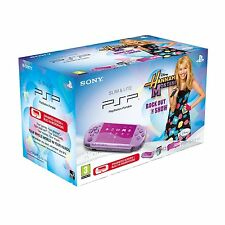 Sony PSP 3000 Hannah Montana Lilac Purple Console Bundle AUS *NEW!* + Warranty