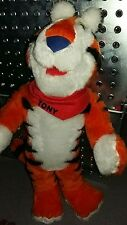 VINTAGE 1996 TONY THE TIGER KELLOGGS FROSTIES ADVERT PLUSH SOFT TOY 17""