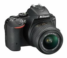 Nikon Digital SLR D5500 With AF-P 18-55mm VR & AF-S DX 55-200mm VR II Lens BLACK