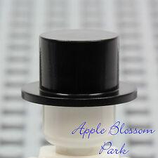NEW Lego City Minifig BLACK TOP HAT - Wedding Cake Groom -Male/Man/Boy Head Gear