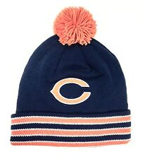 Chicago Bears Mitchell & Ness Knit Pom Ball Top Beanie Hat - New with Tags