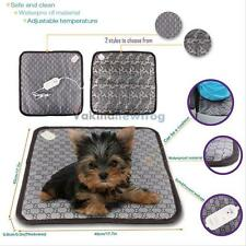 Pet Dog Cat Puppy Adjustable Electric Heating Waterproof Mat Pad Warmer Blanket#