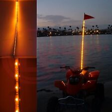 5' Foot Yellow Color LED Light Whip Lighted  ATV UTV Off-Road Sand Rail