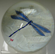 Caithness Dragonfly Paperweight 1995 Ltd Ed Cert. Boxed Scott CG Cane