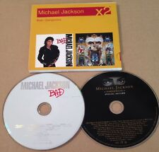 Michael Jackson - Bad / Dangerous x2 Cd DBL Album Ultra Rare! 2007