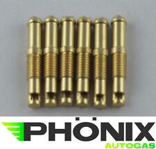 Einblasdüse für Ansaugkrümmer 6x 90 Grad M6 5mm 36mm KME Autogas LPG Düse