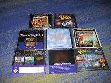 Sierra Adventure Sammlung Space Quest Woodruff Kings Quest Torrins Passage usw.