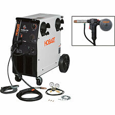 Hobart IronMan 230 230V Flux Cored/MIG Welder w/20-Ft. Spoolgun 250A Output,