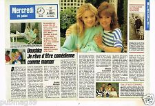 Coupure de presse Clipping 1988 (2 pages) Douchka