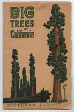 1914 Southern Pacific Booklet The Big Trees of California with Photos