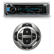 Kenwood KMR-D365BT Marine Yacht CD MP3 Bluetooth Stereo + Marine Wired Remote
