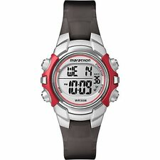 Timex T5K807, Women's Marathon Resin Watch, Indiglo, Alarm, Stopwatch, T5K807M6