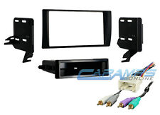 2002-2006 CAMRY CAR STEREO RADIO CD PLAYER DASH TRIM KIT WITH AMP WIRE HARNESS