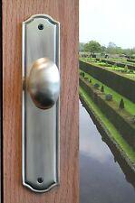 Privacy Door Egg Knobs Privacy Door Hardware Westbury in Distressed Light Bronze
