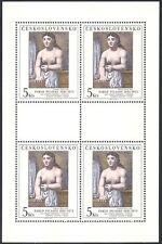 Arte de Checoslovaquia 1981 Picasso// Pinturas/artistas/Desnudo/Desnudo/Mujer 4v m/s n40358