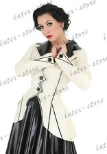 693 Latex Rubber Gummi Coats Jackets outwear catsuit customized clothing 0.4mm