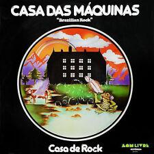 """Casa Das Maquinas:  """"Casa De Rock - Brazilian Rock""""  (CD Reissue)"""