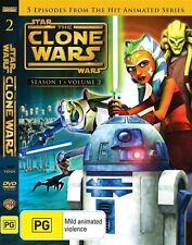Star Wars - The Clone Wars :Season 1, VOL.2   BRAND NEW/UNSEALED ... R 4