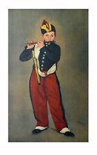 Edouard Manet Der Pfeifer klein Poster Kunstdruck Bild 70x46cm - Portofrei