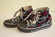 LEVIS Shoe Cotton Toddler Kid Boy Girl Child Cars Sneakers Laces US 10.5
