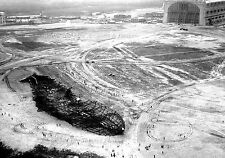 Photo: 5x7: Aerial View Of Hindenburg Wreckage 1 Day After Tragedy - May 7, 1937