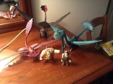 Lot of 5 How To Train Your Dragon Figure Scauldron Cloud Jumper Gobber Snot Lout