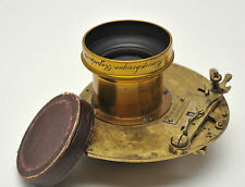 Vintage 1880's C. PROSCH Shutter with DARLOT HEMISPHERIC No.3 Lens