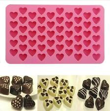 Silicone Mould Love Heart Chocolate Cookies Baking Mold Ice Cube Cake Tray KE15