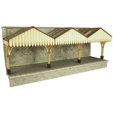 Walled Backed Platform Canopy - OO/HO Card kit – Metcalfe PO341 - Free Post