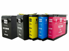 5PK For HP 932XL 933XL 1Set+1BK Ink Cartridge OfficeJet 6100 6600 6700 7610 7110