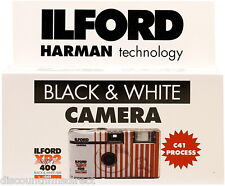 1 x ILFORD XP2 400 35mm 27exp B&W  DISPOSABLE SINGLE USE CAMERA - 1st CLASS POST