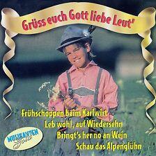 MUSIKANTENGOLD : GRÜSS EUCH GOTT LIEBE LEUT' - VARIOUS ARTISTS / CD - NEUWERTIG