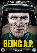 Being A P - Tony McCoy (New DVD) National Hunt Jump Racing Horse Steeplechase