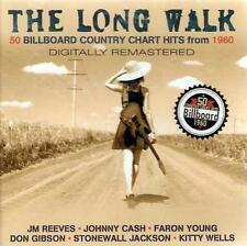 THE LONG WALK - 50 BILLBOARD COUNTRY HITS FROM 1960 (NEW SEALED 2CD)
