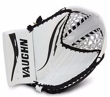 New Vaughn LT88 senior ice hockey goalie catcher glove goal white black sr. reg
